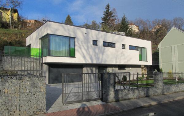 Zateplení fasády RD Šternberk