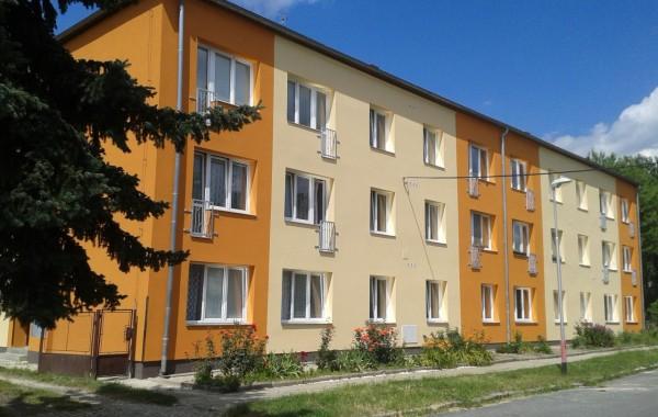Zateplení fasády bytového domu Šternberk