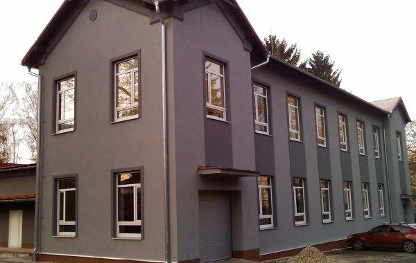 Rekonstrukce fasády a interiéru