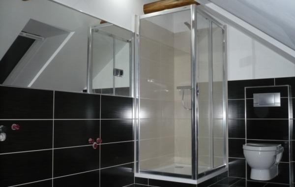 Býtová jádra,  koupelny