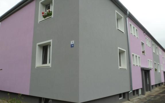 Rekonstrukce fasády Šternberk