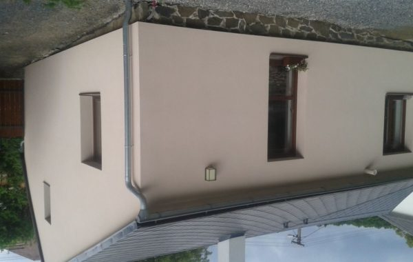 Rekonstrukce fasády rodinného domu